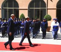 Alessandro Pansa, Angelino Alfano - Roma - 06-06-2013 - La cerimonia di insediamento del nuovo capo della Polizia