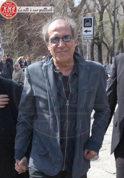 Adriano Celentano - Funerali Enzo Jannacci - Milano - 02-04-2013 - Grave lutto per Adriano Celentano: è morto Gino Santercole