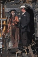 Armie Hammer, Johnny Depp - Los Angeles - 27-09-2012 - Johnny Depp: 10 milioni sono troppo pochi. E molla il set
