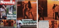 Novella 2000 - 05-08-2007 - Cara Naomi, quando vai in Sicilia, non toccare i paparazzi!
