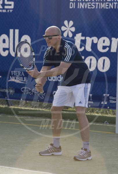 Alfonso Signorini - Capri - 08-06-2013 - Gli Us Open risvegliano la passione per il tennis delle star