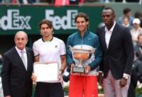 Usain Bolt, David Ferrer, Rafael Nadal - Parigi - 10-07-2013 - Nadal leggendario: in bacheca l'ottavo Roland Garros