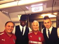 Stephan El Shaarawy, Mario Balotelli - Milano - 10-06-2013 - Dillo con un tweet: a letto con Aida Yespica
