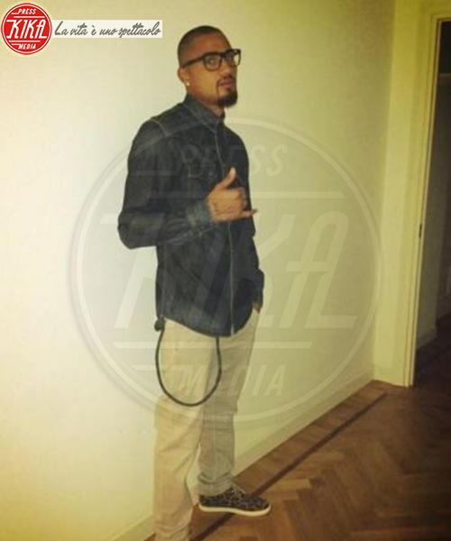 Kevin-Prince Boateng - Milano - 10-06-2013 - Dillo con un tweet: a letto con Aida Yespica