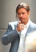 Brad Pitt - Londra - 04-08-2012 - La leadership dei sex symbol è a rischio, Brad Pitt è gonfio