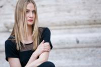 Eva Riccobono - Roma - 09-06-2013 - Lo scatto di Eva Riccobono che allatta finisce sui social
