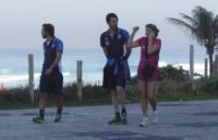 Gianluigi Buffon, Andrea Pirlo - Rio de Janeiro - 11-06-2013 - Gli azzurri vanno alla scoperta di Rio De Janeiro