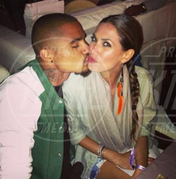Kevin-Prince Boateng, Melissa Satta - Dillo con un tweet: Fanny e Balo fidanzati con diamante