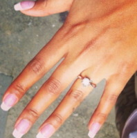 Fanny Neguesha - Dillo con un tweet: Fanny e Balo fidanzati con diamante