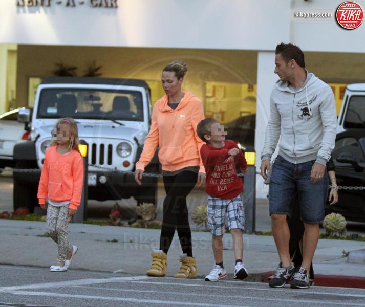 Christian Totti, Chanel Totti, Ilary Blasi, Francesco Totti - Los Angeles - 11-06-2013 - Chiamiamolo strano: i buffi nomi dei pargoli vip