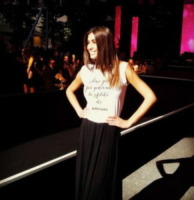 Federica Nargi - Milano - 13-06-2013 - Dillo con un tweet: per Federica Nargi la prova costume e' gia' ok