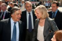 Roberto Lagalla, Josefa Idem, Leoluca Orlando - 14-06-2013 - Dallo sport alla politica il passo è breve