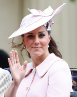 Kate Middleton - Londra - 15-06-2013 - Trooping the Colour: Kate Middleton con il plaid sulle ginocchia