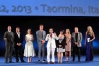 Zack Snyder, Henry Cavill, Tiziana Rocca, Russell Crowe, Amy Adams - Taormina - 15-06-2013 - Russell Crowe inaugura con stile il Festival di Taormina
