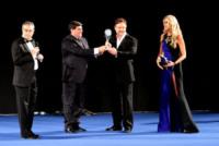 Tiziana Rocca, Russell Crowe - Taormina - 15-06-2013 - Russell Crowe inaugura con stile il Festival di Taormina