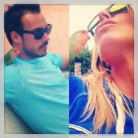 Guendalina Canessa, Luca Marin - 16-06-2013 - Dillo con un tweet: Belen Rodriguez, meglio bagnante che mamma