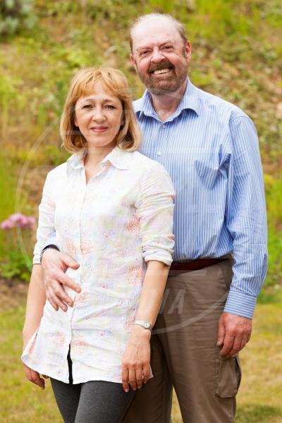 Olga Holtom, Mark Holtom - Suffolk - 12-06-2013 - Stivali di gomma per ospitare un fiume di cuccioli