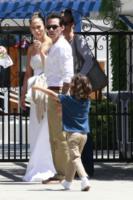 Max Anthony, Marc Anthony, Jennifer Lopez - Los Angeles - 19-06-2013 - Marc Anthony e Jennifer Lopez: insieme in nome dei figli