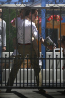 Emme Anthony, Max Anthony, Marc Anthony - Los Angeles - 19-06-2013 - Marc Anthony e Jennifer Lopez: insieme in nome dei figli