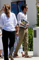Emme Anthony, Marc Anthony - Los Angeles - 19-06-2013 - Marc Anthony e Jennifer Lopez: insieme in nome dei figli