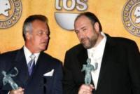 Tony Sirico, James Gandolfini - Los Angeles - 28-01-2008 - E' morto James Gandolfini della serie tv I soprano
