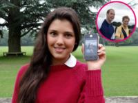 Andrea Rubio - Londra - 18-06-2013 - Andrea Rubio: 14enne resa celebre da una foto… principesca