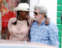 Melody Hobsom, George Lucas - 31-12-2010 - George Lucas si è sposato con Melody Hobson
