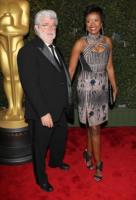Melody Hobsom, George Lucas - Los Angeles - 02-12-2012 - George Lucas si è sposato con Melody Hobson