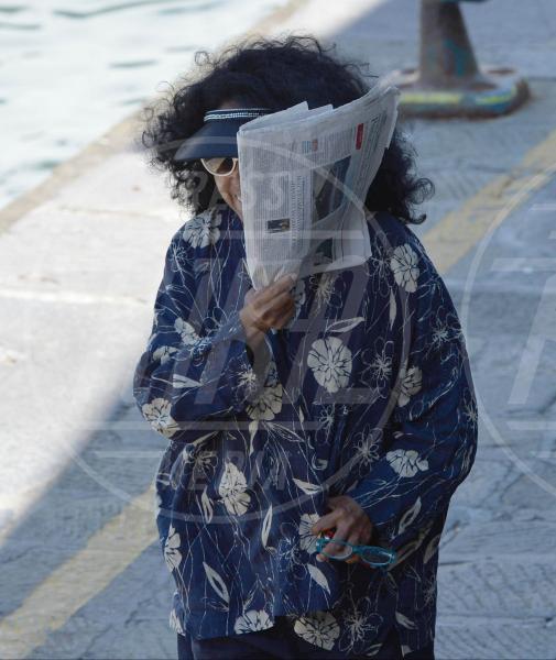Diana Ross - Portofino - 21-06-2013 - La foca grigia che si sente una star