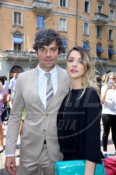 Myriam Catania, Luca Argentero - Milano - 24-06-2013 - Woodley-James: quando il set e' galeotto