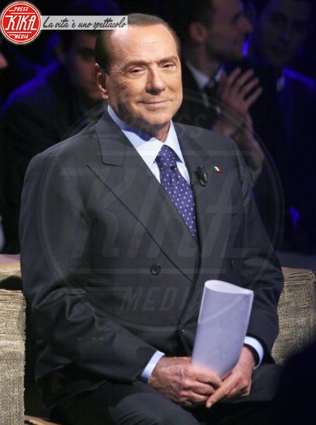 Silvio Berlusconi - Roma - 05-02-2013 - Silvio Berlusconi in ospedale per battito cardiaco irregolare
