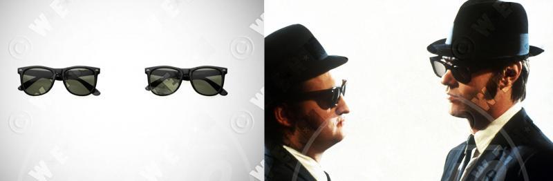 Blues Brothers - Occhiali da sole - Los Angeles - 25-06-2013 - Star e occhiali da sole, legame indissolubile!