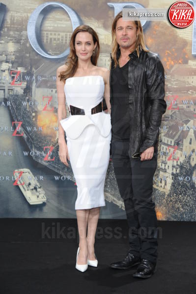 Angelina Jolie, Brad Pitt - Berlino - 04-06-2013 - World War Z, record d'incassi in carriera per Brad Pitt
