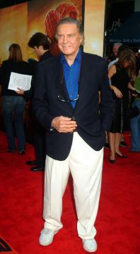 Cliff Robertson - Londra - E' morto a 88 anni il premio Oscar Cliff Robertson