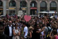 Fan - Milano - 26-06-2013 - Il ciclone Violetta si abbatte su Milano