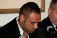 """Fabrizio Miccoli - Palermo - 27-06-2013 - Miccoli in lacrime: """"Sono contro la mafia"""""""
