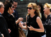 Edie Falco - New York - 27-06-2013 - I funerali di James Gandolfini a New York