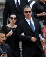 Juliana Margulies, Chris Noth - New York - 27-06-2013 - I funerali di James Gandolfini a New York