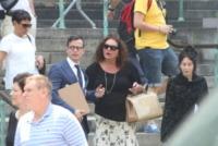 Aida Turturro - New York - 27-06-2013 - I funerali di James Gandolfini a New York