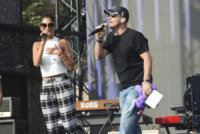Eros Ramazzotti, Nicole Scherzinger - Roma - 27-06-2013 - Eros Ramazzotti svela la sua appartenenza politica