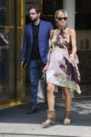 Tomaso Trussardi, Michelle Hunziker - Milano - 27-06-2013 - Belen e Michelle al timone di Striscia la Notizia?