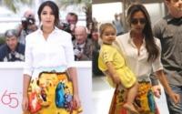 Leila Bekhti, Victoria Beckham - 04-07-2013 - Leila Bekhti o Victoria Beckham: chi lo indossa meglio?