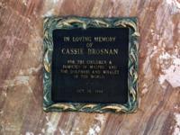 Malibu - 22-11-2000 - Charlotte Brosnan poteva salvarsi con il test anticancro?