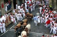 Festa di San Firmino - Pamplona - 07-07-2013 - Spagna: a Pamplona è il giorno dei tori