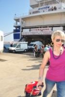 Nave Tirrenia - Lampedusa - 07-07-2013 - Lampedusa: fervono i preparativi aspettando Papa Francesco