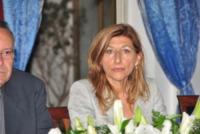 Giusi Nicolini - Lampedusa - 07-07-2013 - Lampedusa: fervono i preparativi aspettando Papa Francesco