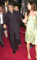 Lisa Snowdon, George Clooney - Los Angeles - 15-07-2004 - Talia Balsam: ma che hai fatto a George Clooney?
