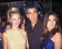 Celine Balitran, George Clooney - Hollywood - 12-06-1997 - Talia Balsam: ma che hai fatto a George Clooney?