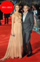 Stacy Keibler, George Clooney - Londra - 20-10-2011 - Talia Balsam: ma che hai fatto a George Clooney?