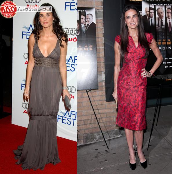 Demi Moore - New York - 18-10-2011 - Quando magro non è bello: star che sono dimagrite troppo